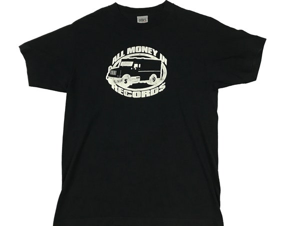 Original Nipsey Hussle All Money In Records Logo Shirt (L)