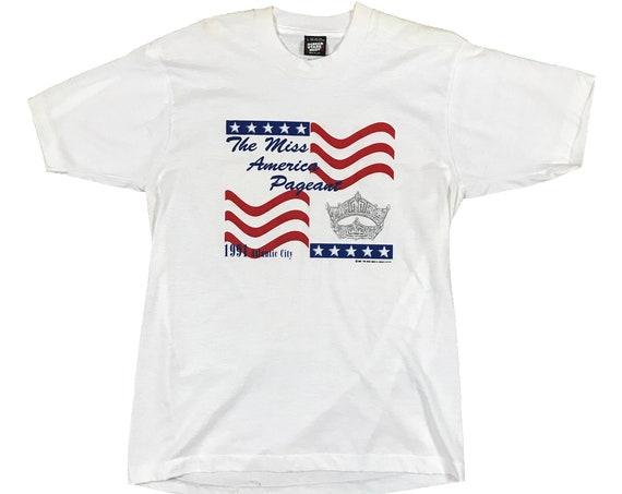 1991 Miss America Pageant Crown Tiara Atlantic City T-shirt (L)