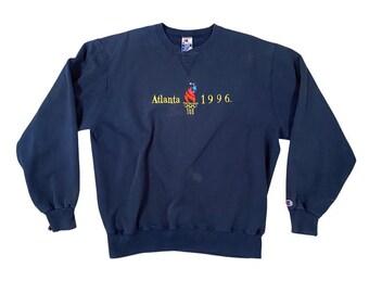 1996 Atlanta Olympic Games Logo Champion Sweatshirt (XL)