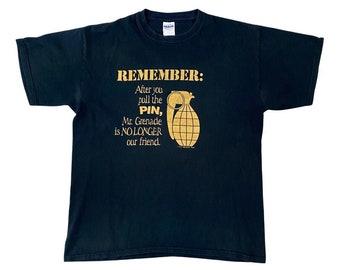Mr. Grenade Is No Longer Your Friend Tourist T-Shirt (L)