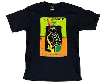 2002 Jazz 91.9FM WCLK Clark Atlanta University T-Shirt (L)