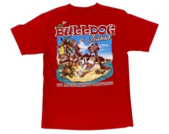 UGA Georgia Bulldogs Island Ultimate Getaway T-shirt (M)