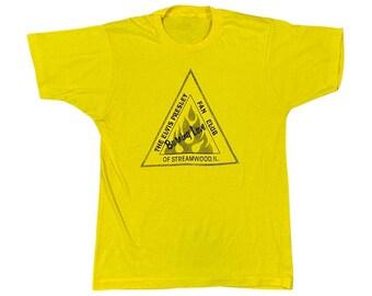 "70's Elvis Presley ""Burning Love"" Fan Club T-shirt (M)"