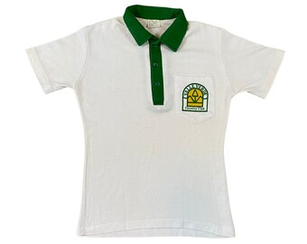 80s Valle Verde Country Club Pocket Polo Shirt (M)