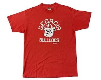 1980s University of Georgia Bulldogs Delta T-Shirt (L/XL)