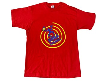 """90's SEGA Channel """"Stop Just Watching TV"""" Promo T-Shirt (L)"""