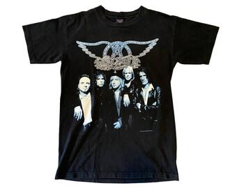 1997 Aerosmith Nine Lives World Tour Concert 2-Sided T-shirt (M/L)