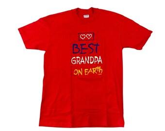 90s Best Grandpa On Earth T-Shirt (L)