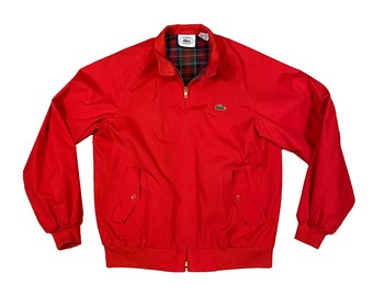 Vintage 1980's Lacoste Izod Golf Jacket (M)