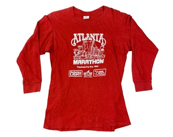 1982 Atlanta Marathon Race Long Sleeve Shirt (M)