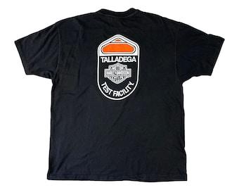 90s Harley Davidson Talladega Test Facility Shield Logo Shirt (XL)