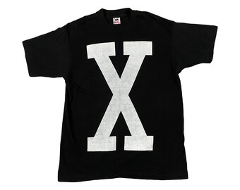 1991 Malcolm X Double Sided Single Stitch T-Shirt (L)
