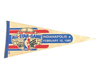 1985 Michael Jordan's 1st NBA All Star Game Full Size Pennant