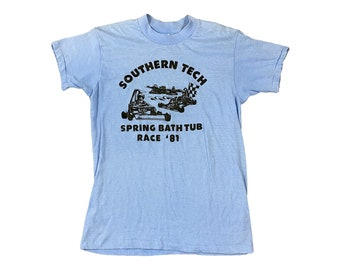1981 Southern Tech Spring Bathtub Race Shirt (S)