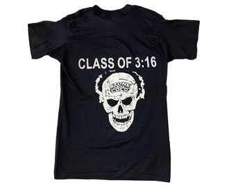 90s Stone Cold Steve Austin 3:16 double sided T-Shirt (S)
