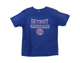 1990s Detroit Pistons Champion T-shirt (M/L)