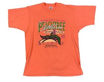 1992 Atlanta Peachtree Road Race 10K ATL Runner T-Shirt (L)