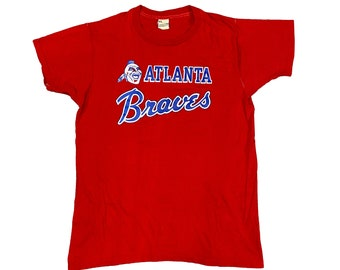 Early 80s Atlanta Braves Single Stitch T-shirt (M)