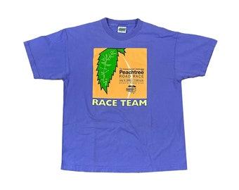 2001 Atlanta Peachtree Road Race 10K Runner T-Shirt (XL)