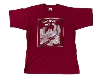 Atlanta Roosevelt House Techwood Drive ATL T-Shirt (L)