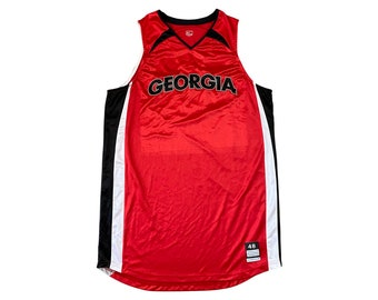 Nike UGA Georgia Bulldogs Basketball Jersey - No Numbers / Team Issue (48 +4)
