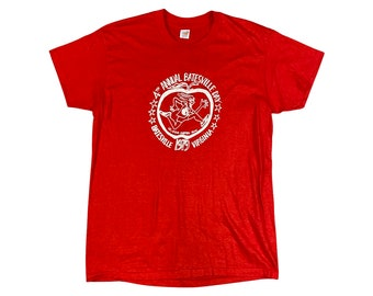 1979 Batesville Virginia Day 10K Runner T-shirt (M)