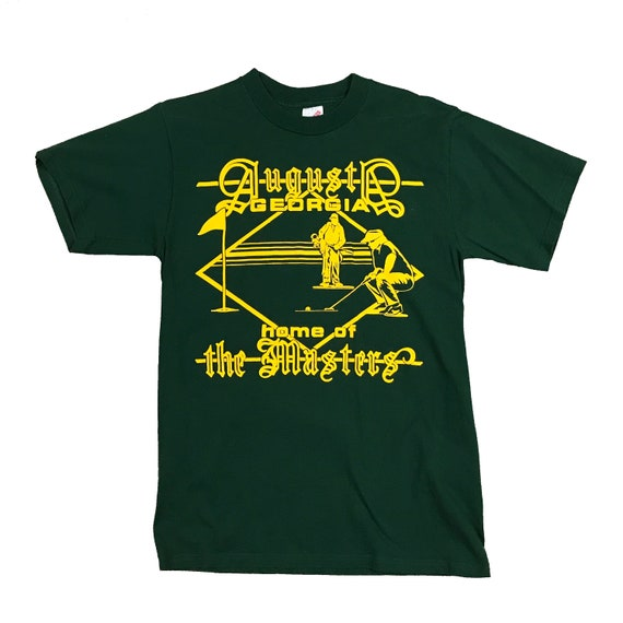 1990s The Masters Augusta Golf Course Bootleg T-Shirt (M)