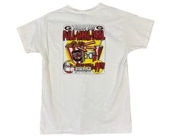 1999 UGA Georgia Bulldogs Full Meal Deal T-shirt (M)
