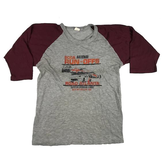 1982 SCCA National Run-Offs Road Atlanta Racing Team 3/4 sleeve shirt (S)