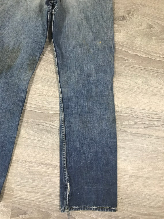 1940s/50s Lee Riders Jeans Crotch Rivet Union Mad… - image 10