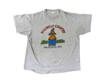 80s Hillbilly Country Branson Missouri T-shirt (M/L)