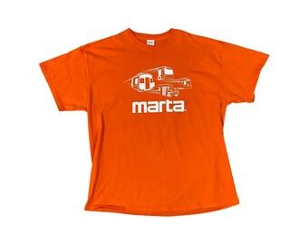 MARTA Atlanta ATL Double Sided T-Shirt Orange (XXL)