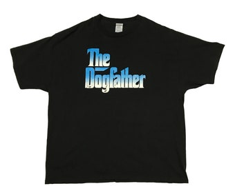 "1990s Snoop Doggy Dogg ""Dogg Father"" Promo T-Shirt (2XL)"