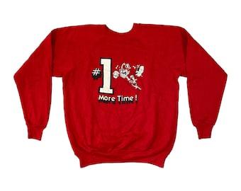 1981 UGA Georgia Bulldogs #1 Raglan Sweatshirt (L)