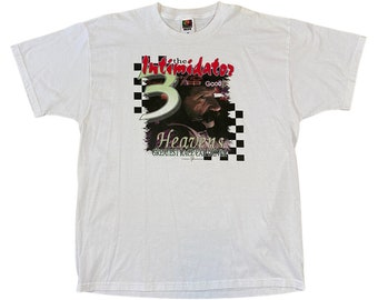 """2001 Dale Earnhardt in Memory of """"Heavens Greatest Race Car Driver"""" The Intimidator NASCAR Shirt (XL)"""