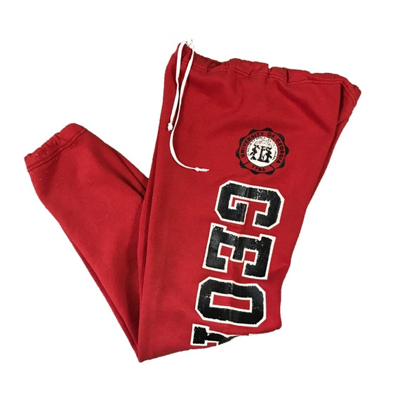 1990s UGA University of Georgia Bulldogs Russell Athletic Sweatpants (S)
