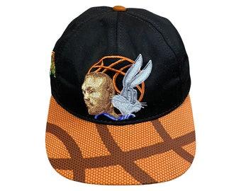 1996 Space Jam Movie Michael Jordan Bugs Bunny Basketball Kids Cap Hat (Youth)