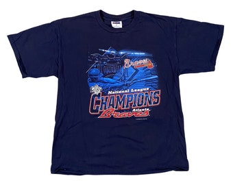 1999 Atlanta Braves NL Champs World Series T-shirt (XL)