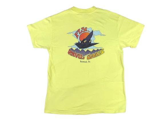 1980s Fly Anvil Cases Rosemead California Souvenir T-Shirt (L)