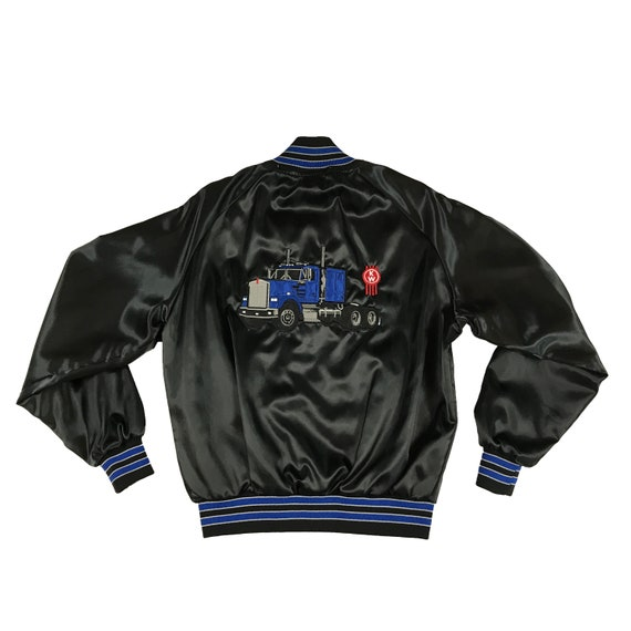 90's KW Truck Embroidered Dugout Coat Jacket Truckers Only (L)