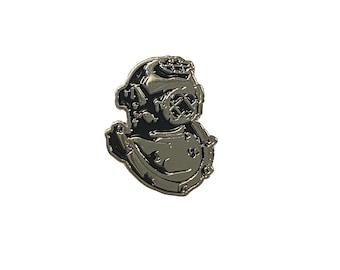 Orphintage Logo Mark V Diver's Helmet Enamel Pin