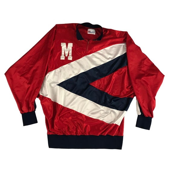90s Game Worn Speedline Ole Miss University of Mississippi Basketball Warm-up Jacket (2XL)