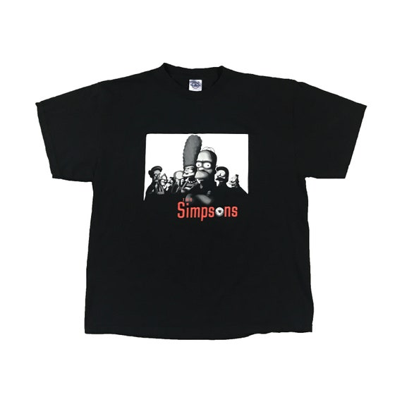 The Simpsons The Sopranos T-Shirt (XL)