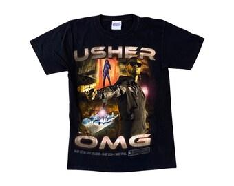 USHER Raymond V Raymond OMG Tour Concert Shirt (S/M)