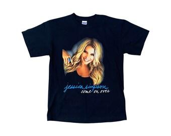 Jessica Simpson Come On Over Tour Concert Shirt (M)