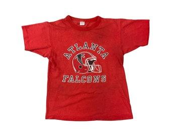 1980s Atlanta Falcons Helmet Champion T-shirt (S)