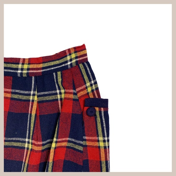 50's Plaid Skirt - image 2