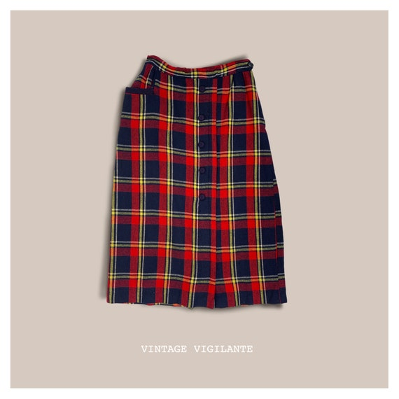 50's Plaid Skirt