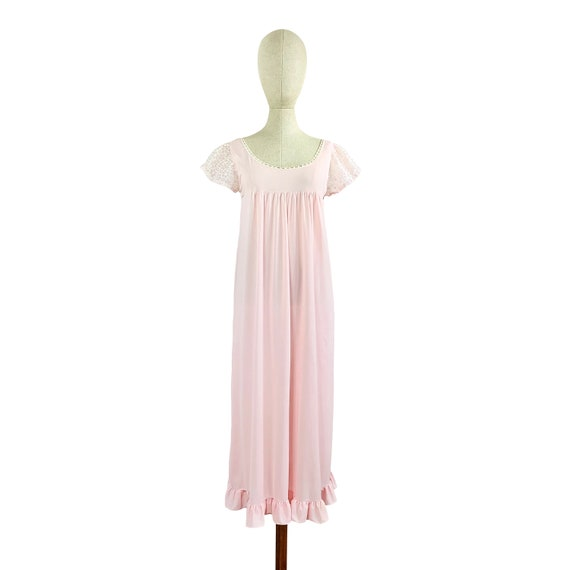 Forget Me Not Pink Night Gown