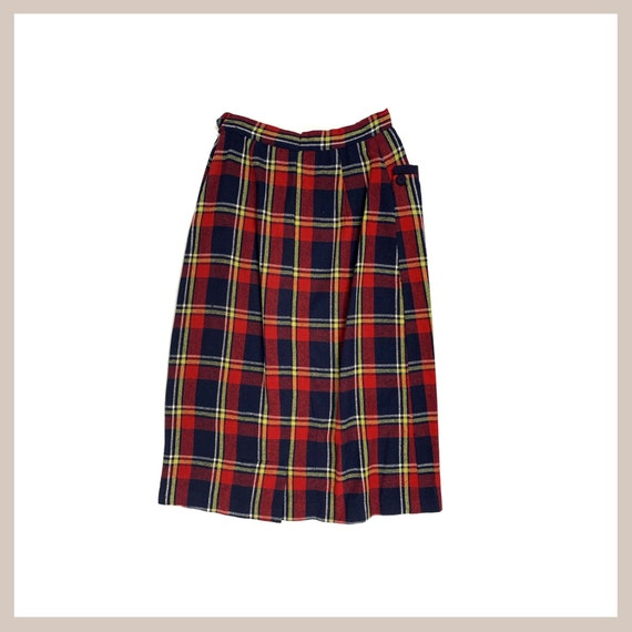 50's Plaid Skirt - image 5